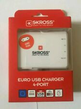 Skross EURO 4 Port USB Powerful Charger