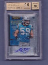 2012 contenders LUKE KUECHLY bgs 9.5 TICKET auto sp/99 signed PANTHERS rc 10