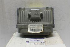 1997 Oldsmobile Achieva Engine Control Unit ECU 16217058 Module 635 9E2