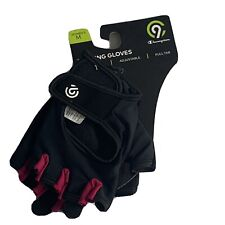 champion women's training gloves medium black & pink new