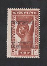 Poste aérienne militaire bâtiment Richelieu N° 6 Sénégal  gomme sans charnière