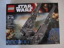 75104 LEGO Star Wars Kylo Ren's Command Shuttle 1005 Pieces 6 Mini Figures New