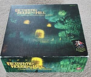 Betrayal at House on The Hill Board Game - 2nd edition