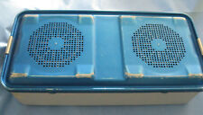 """Aesculap Full-Size Sterilization Case/Container 6"""" High with JF223R Basket"""