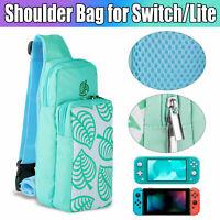 For Nintendo Switch/Lite Animal Crossing Bag Portable Case Shoulder Pouch Nylon