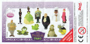 "Zaini Minifigures (4cm/1.6"") - Disney - The Princess and the Frog Series (2009)"