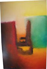 Cuadro abstracto al óleo. Artista: M.L.Cambil