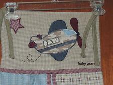 NEW COCALO BABY MARTEX PRO FLYER DIAPER STACKER PLANE PLAID