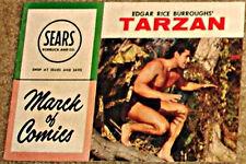 MARCH OF COMICS 185 TARZAN RARE GIVEAWAY PROMO VG 1958 MINI PROMOTION POLL PAROT