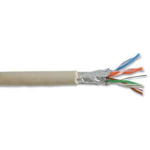 Grey Cat 6 Shielded FTP Ethernet Cable Per 10 metres