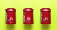 3 x Schwarzkopf OSIS + THRILL texture Fibre gum 3 STRONG CONTROL 100ml