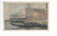 Venice The Molo   Mailed  1947  U S Army Postal Service   Postcard 2114