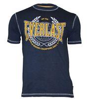 "EVERLAST T-Shirt ""New York"" marine/gelb S M L XL XXL XXXL XXXXL NEU"