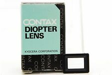 [UNUSED] Genuine Contax Diopter Lens FL 0 for RX/II Aria S2/b 167MT NX 28312