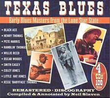 Texas Blues-Early Blues From The Lone Star State - Various (NEW 4CD)