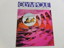 New ListingSki-Doo 1971 Olympique snowmobile sales brochure tri-fold