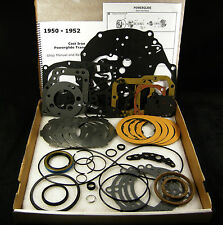 1950-1952 Cast Iron Powerglide Transmission Rebuild Overhaul Part Rebuilding Kit