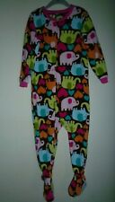 Carter'S* Baby Girl's Or Boy's Pajamas Footed Size (2T) 100% Polyester.