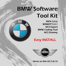 BMW Standard Tools- INPA 5.0.6 NCS Expert  WINKFP  100% WORKING Easy Install