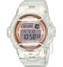 Casio Baby-G BG-169G White Gold Resin and Stainless Steel Bronze Dial Women's Wrist Watch