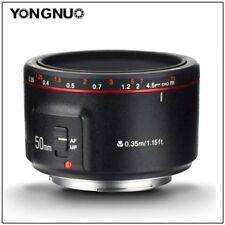 Yongnuo YN50MM F1.8 II AF/MF Standard Prime LensNew Vision for Canon 1300D 1200D