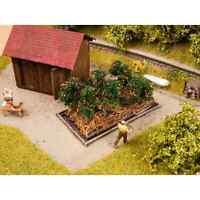 NOCH 13215 1/87 H0 DECORS PLANTES PLANTS DE TOMATES 6 PIECES HO