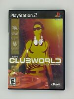 Ejay Clubworld - Playstation 2 PS2 Game - Complete & Tested