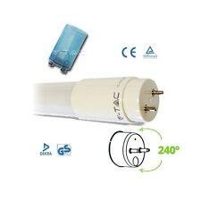 Lampada LED Tubo Neon LED V-TAC  T8 attacco G13 120cm 18w Luce Neutra 4500k