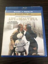 Life Is Beautiful Blu-ray Benigni Oscar Winner Oop Out Of Print Rare Edition S20