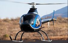 RotorWay Exec A600 Talon USA Helicopter Wood Model Free Shipping