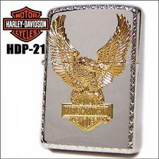 ZIPPO / HARLEY- DAVIDSON Cigarette Oil Lighter....... Limited Edition  HDP-21