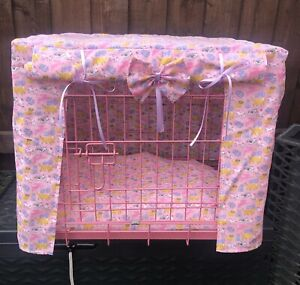 MADE TO MEASURE DOG CRATE / CAGE COVER / VARIOUS DOG & CAT BREEDS DESIGN
