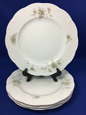 Rosenthal CATHERINE Classic Rose Collection DINNER PLATES Germany SET OF 4   #A
