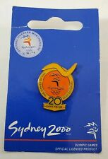 Sydney 2000 Olympic Pin 20 Days To Go Games Of The Olympiad