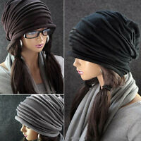 New Fashion Winter Ski Men Women Knit Baggy Beanie Slouchy Chic Hat Cap Skull
