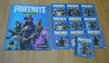 Panini Fortnite Sticker Series 1 Empty Album+10 Bags 50 Pictures Nip