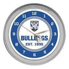 Canterbury Bulldogs - Neon Wall Clock - NRL - Rugby League