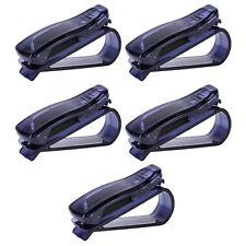 5x Autozubehör Fahrzeug Sonnenblende Clip Halter Sonnenbrille Brillen Halterung