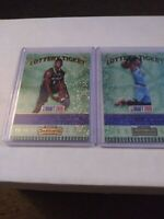 Zion williamson And Ja Morant rookie Lot Ssp Lottery Ticket perfect condition