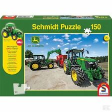 Schmidt John Deere Tractors 5M Series Jigsaw Puzzle For Children 150 Pieces Toy