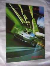 Toyota Celica (série t23) Prospectus/Brochure/DEPLIANT PL