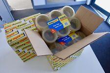 72 Rollos Fuerte Paquete Claro Caja de Embalaje Cinta de Sellado - 48 Mm x 66 M-al día siguiente!!!