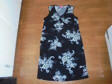 Liz Lange Maternity stylish black and white print sundress size S