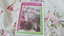 HTF Jenny Haskins Sam's Love Hearts Multi Format Embroidery Design Cd NIP