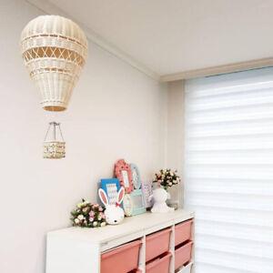 Handmade Hot Air Balloon Kid Room Wall Hanging Decorations Nursery Decor