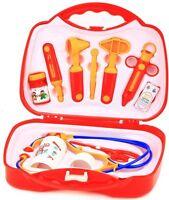 OS 5547882 Großer Kinder Arztkoffer 11 Teilig Doktorkoffer Arzttasche NEU / OVP