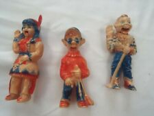 3 Celluloid Puppets - HOWDY DOODY, Princess Summerfall Winterspring, Dilly Dally
