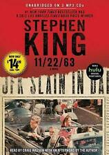 11/22/63 by Stephen King (MP3 CD – Audiobook, 2016)