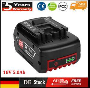 Bosch Akku 18V 5.0Ah GBA Professional GSR GSB BAT609 BAT620 BAT618 2607337070 DE