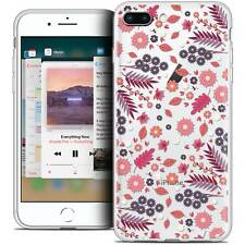 "Coque Crystal Gel Pour iPhone 8 Plus (5.5"") Extra Fine Souple Spring Printemps"